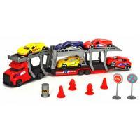 Игровой набор Dickie Toys Автотранспортер с 5 металлическими машинками Фото