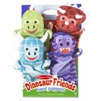 Ігровий набір Melissa&Doug Кукольный театр Динозавры, 4 штуки Фото