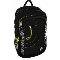 Рюкзак шкільний Yes T-121 Smiley World.BlackYellow черный Фото