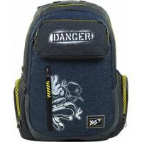 Рюкзак шкільний Yes T-87 Danger синий Фото