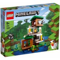 Конструктор LEGO Minecraft Современный домик на дереве 909 деталей Фото
