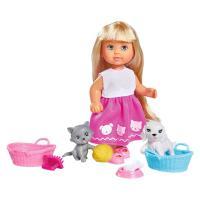 Кукла Simba Эви Домашние животные с аксессуарами Фото