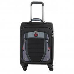 99c39639361e Чемодан Wenger Synergy, малый, 4 колеса (чёрный) (604377) ▷ Купить ...