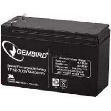 Батарея до ДБЖ 12В 7 Ач GEMBIRD (BAT-12V7AH_1) - фото 1