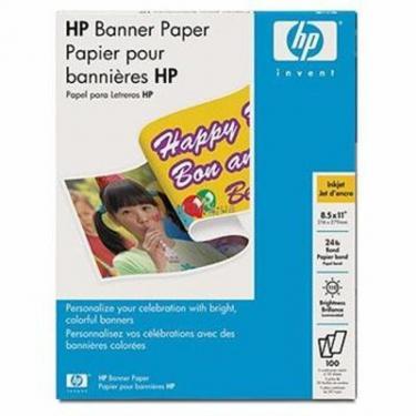 Бумага HP A4 Banner Paper (210мм x 5940мм) (C1821A) - фото 1