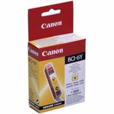 Картридж BCI-6Y (Yellow) Canon (4708A002) - фото 1