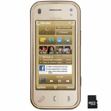 Мобільний телефон N97 mini Gold Nokia (002Q3B6) - фото 1