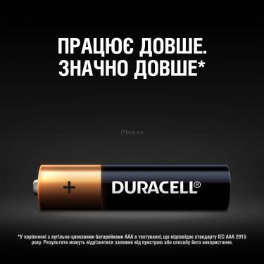 Батарейка Duracell AAA MN2400 LR03 * 4 (5000394052543 / 81545421) - фото 4