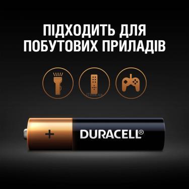 Батарейка Duracell AAA MN2400 LR03 * 4 (5000394052543 / 81545421) - фото 5