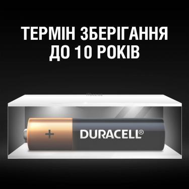 Батарейка Duracell AAA MN2400 LR03 * 4 (5000394052543 / 81545421) - фото 7