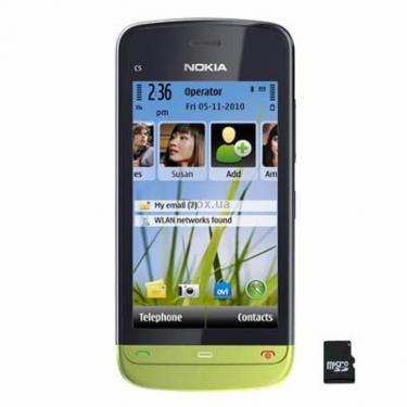 Мобільний телефон C5-03 Lime Green Nokia (002V161) - фото 1