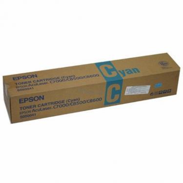 Картридж Epson AcuLaser C8500/C8600 cyan (C13S050041) - фото 1