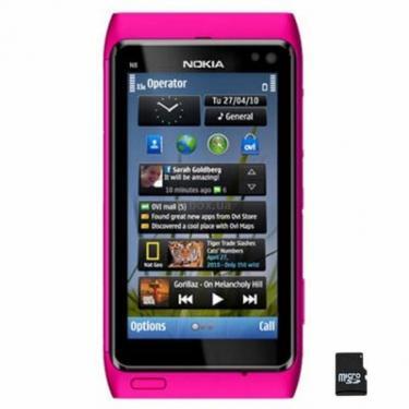Мобільний телефон N8-00 Pink Nokia (002W606) - фото 1