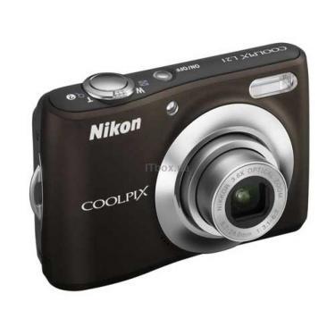 Цифровой фотоаппарат Coolpix L21 brown Nikon (VMA581E6) - фото 1