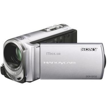 Цифровая видеокамера DCR-SX44Esilver SONY (DCR-SX44ES silver) - фото 1