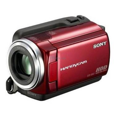 Цифровая видеокамера DCR-SR68E red SONY (DCR-SR68ER) - фото 1