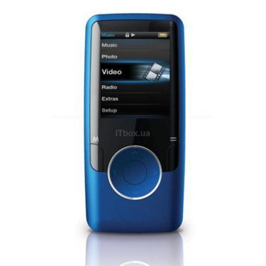 mp3 плеер Ergo Zen Modern 2GB Blue (2GB Zen Modern blue) - фото 1