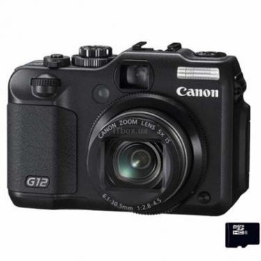 Цифровой фотоаппарат PowerShot G12 Canon (4342B022) - фото 1