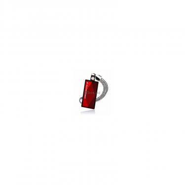 USB флеш накопитель Silicon Power 4Gb Touch 810 red (SP004GBUF2810V1R) - фото 1