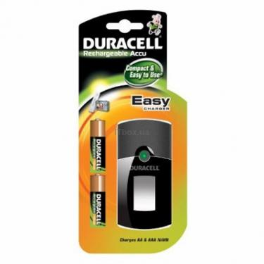 Зарядний пристрій для акумуляторів CEF24 + 2 х 2450mAh АA Duracell (75069937) - фото 1
