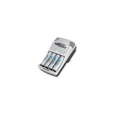Зарядний пристрій для акумуляторів PhotoCam III + 4*AA 2850mAh Ansmann (5007093) - фото 1