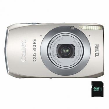 Цифровий фотоапарат IXUS 310 HS silver Canon (5132B012) - фото 1