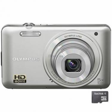 Цифровой фотоаппарат VG-130 silver Olympus (N4296392) - фото 1