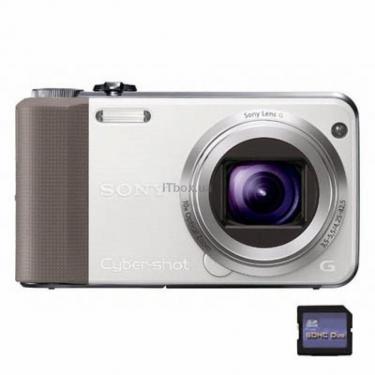 Цифровой фотоаппарат Cyber-shot DSC-HX7V white Sony (DSCHX7VW.CEE2) - фото 1