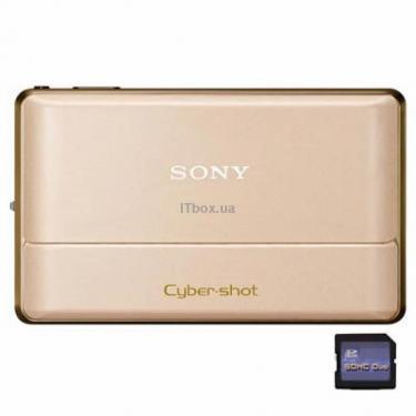 Цифровий фотоапарат Cyber-shot DSC-TX100V gold Sony (DSCTX100VN.CE2) - фото 1