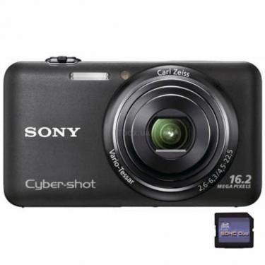 Цифровой фотоаппарат Cybershot DSC-WX7 black Sony (DSCWX7B.CEE2) - фото 1