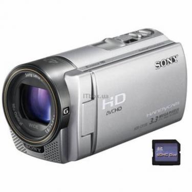 Цифрова відеокамера HDR-CX130 silver Sony (# HDR-CX130ES) - фото 1