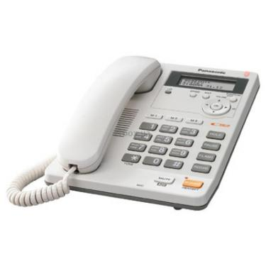 Телефон KX-TS2565UAW PANASONIC - фото 1