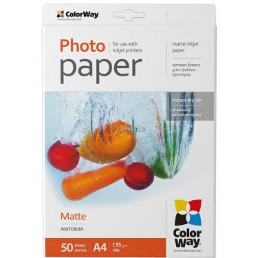 Бумага ColorWay A4 (ПМ135-50) (PM135050A4) - фото 1