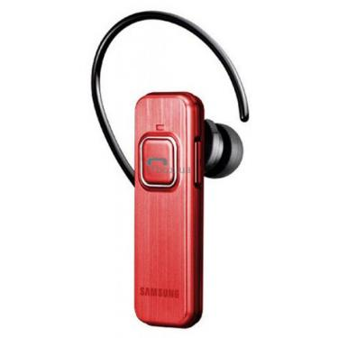 Bluetooth-гарнітура Samsung WEP 350 Red - фото 1