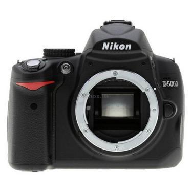 Цифровий фотоапарат D5000 body Nikon (VBA240AE) - фото 1