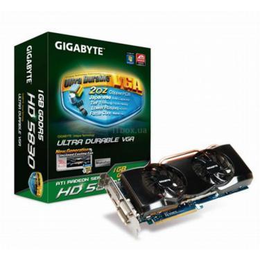 Видеокарта Radeon HD 5830 1024Mb UltraDurable Gigabyte (GV-R583UD-1GD) - фото 1