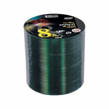 Диск DVD X-DIGITAL 4.7Gb 8X Bulk 100шт (XD-DV-D8G470X00) - фото 1