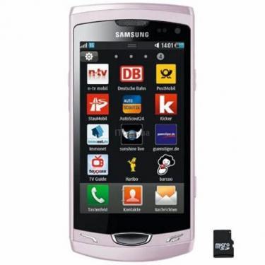 Мобильный телефон GT-S8530 (Wave II) Elegant Pink Samsung (GT-S8530LIJ) - фото 1
