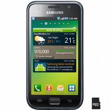 Мобильный телефон GT-I9003 (Galaxy SL) Midnight Black Samsung (GT-I9003MKJSEK) - фото 1