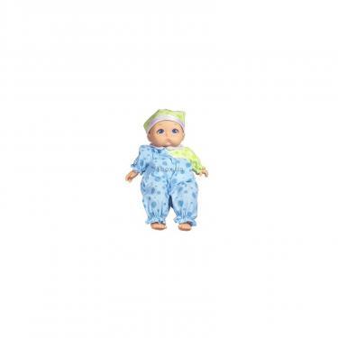 Пупс Funville Baby Bundlz в голубом костюме с плачущим лицом Фото