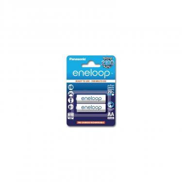 Акумулятор Panasonic Eneloop AA 1900mAh NI-MH * 2 (BK-3MCCE/2BE) - фото 1