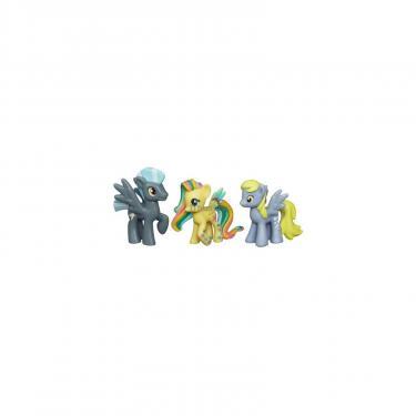 Игровой набор Hasbro Мини коллекция пони Fluttershy, Thunderlane и Derp Фото 1
