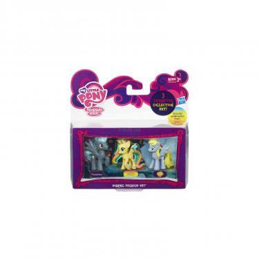 Игровой набор Hasbro Мини коллекция пони Fluttershy, Thunderlane и Derp Фото