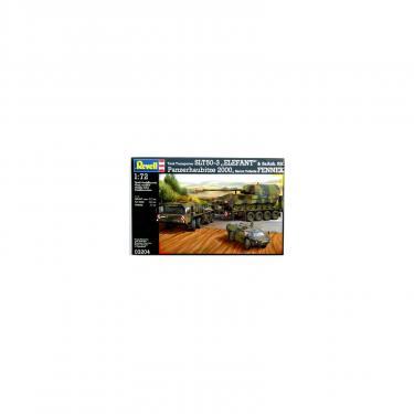Сборная модель Revell Транспортер + гаубица + бронемашина SLT503 Фото 3