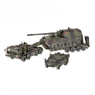 Сборная модель Revell Транспортер + гаубица + бронемашина SLT503 Фото