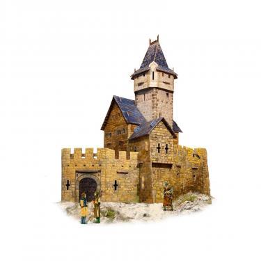 Сборная модель Умная бумага Охотничий замок с героями серии Средневековый горо Фото 1