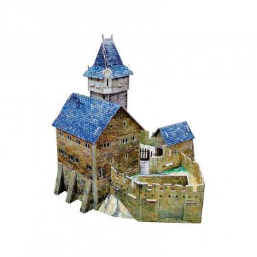 Сборная модель Умная бумага Охотничий замок с героями серии Средневековый горо Фото