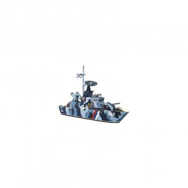 Сборная модель Умная бумага Ракетный катер Удалой серии Военная техники Фото