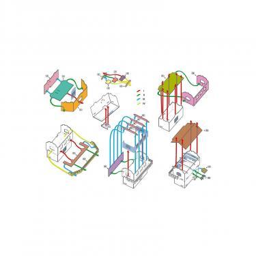 Сборная модель Умная бумага Пост управления стрелками и сигналами Фото 2