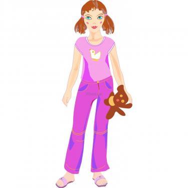 Игровой набор Умная бумага Кукла-наряжайка Сестренка Фото 1